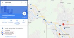 Google Maps-Als Inhaber eintragen