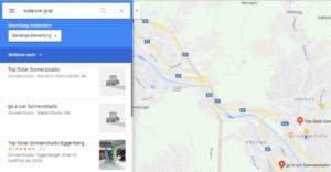 Google Maps Eintrag