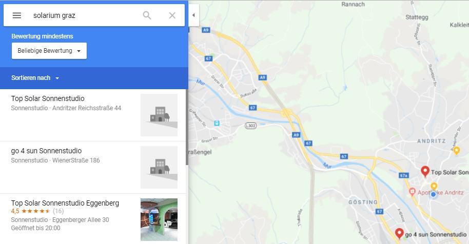 google my business, Google My Business Brancheneintrag