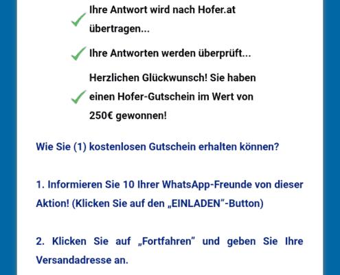Gewinnspiele, Fake Gewinnspiele auf WhatsApp erkennen
