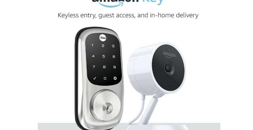 amazon key, Amazon Key Smartes Türschloss