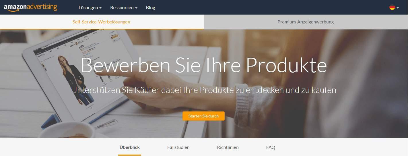 Amazon Ads, Amazon Werbeanzeigen - sponsored Products