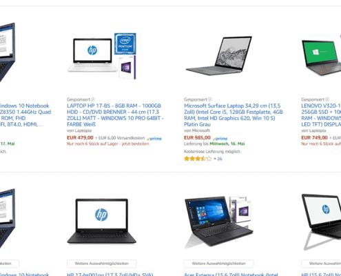 Amazon Werbung, Amazon Werbung – Gesponserte Produkte