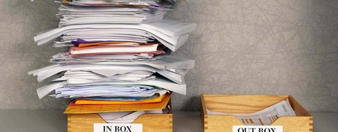 Posteingang, Zero Inbox – keine E-Mails im Posteingang