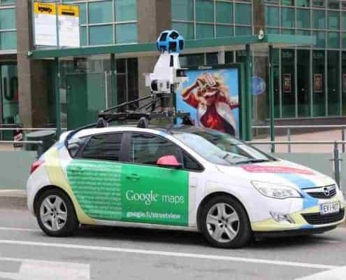 Google Street View, Städte ansehen mit Google Street View