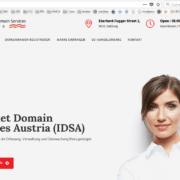 Aufforderung zum Domainkauf