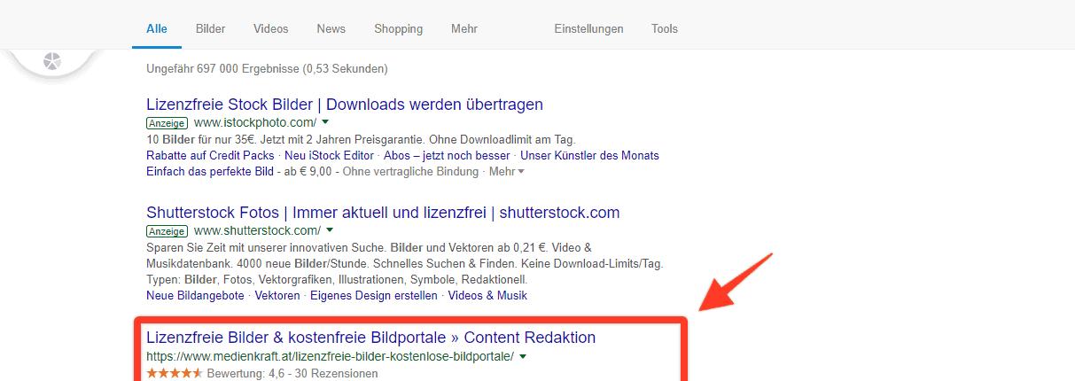 "Google Suche, Operator ""*"" (Lückenfüller)"