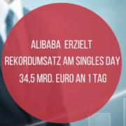 Alibaba: Singles Day mit Umsatz-Rekord
