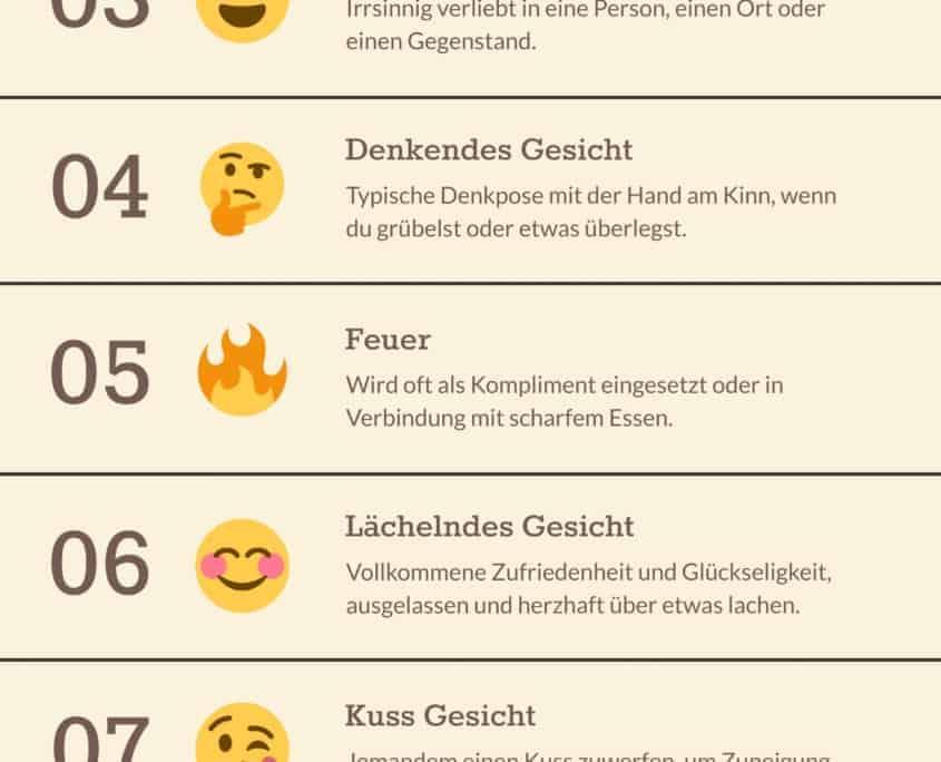 emoticons, Sonderzeichen & Emoticons für Posts