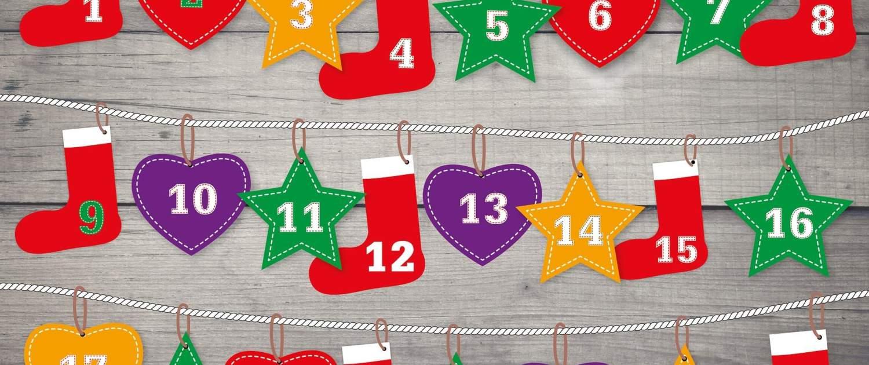 Adventkalender, Adventkalender, Gewinnspiele & Co