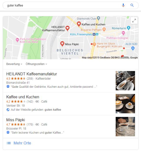 Local SEO abseits von Google My Business
