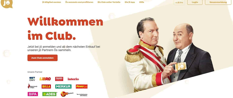 jö Bonusclub, Neuer Kundenclub in Österreich