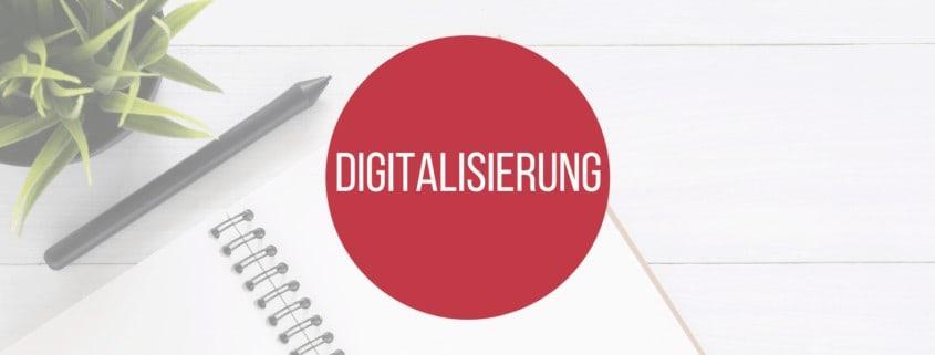 Digitalisierung - Lexikonbeitragsbild