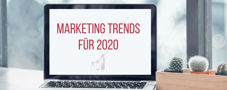 Marketing Trends 2020, Marketing Trends 2020