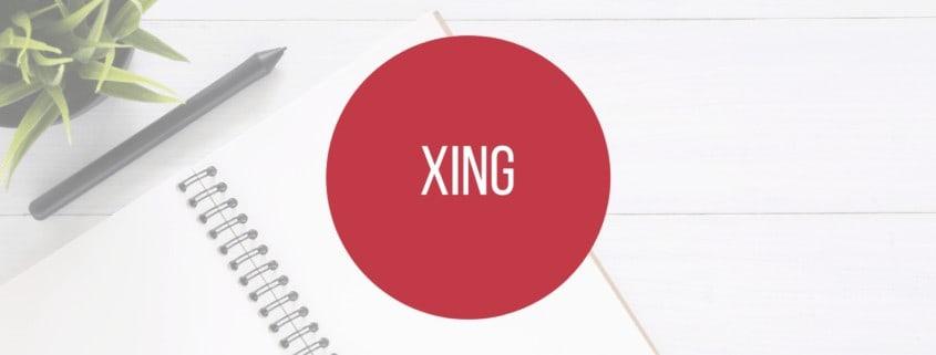 Lexikon-Herobild Social Media-Plattform XING