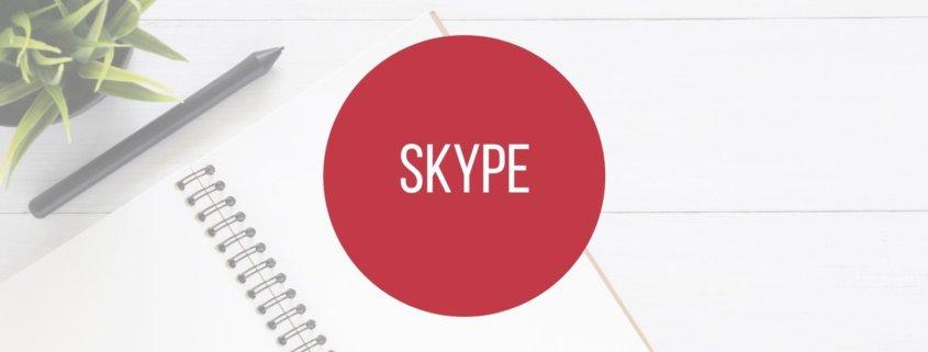 Skype - Onlinekonferenzen und Videotelefonie