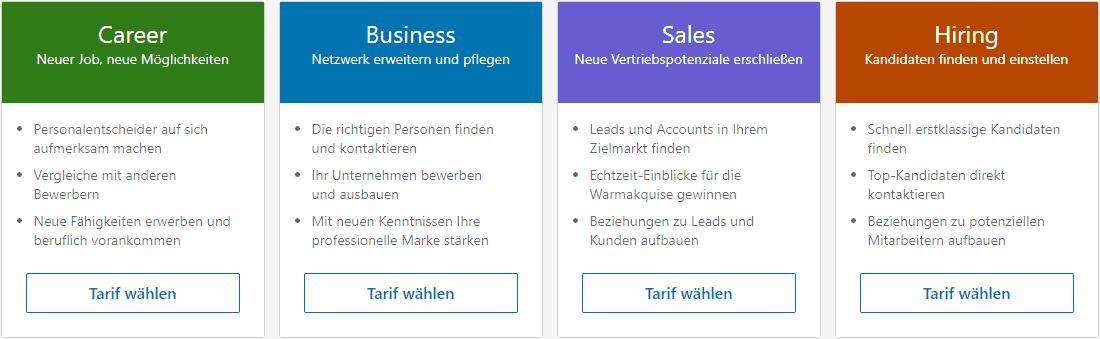 Karriere-Netzwerke, Karriere-Netzwerke im Vergleich LinkedIn vs. XING