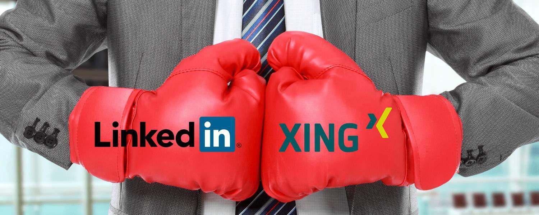 Karriere-Netzwerke Xing vs. LinkedIn