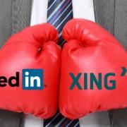 Karriere-Netzwerke im Vergleich LinkedIn vs. XING