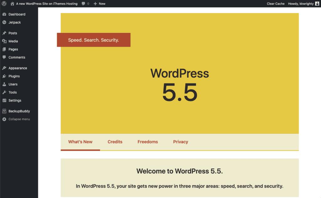 """Wordpress 5.5, WordPress 5.5 """"Eckstine"""" – Was ist neu?"""