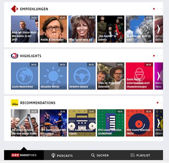Radiothek ORF Themen