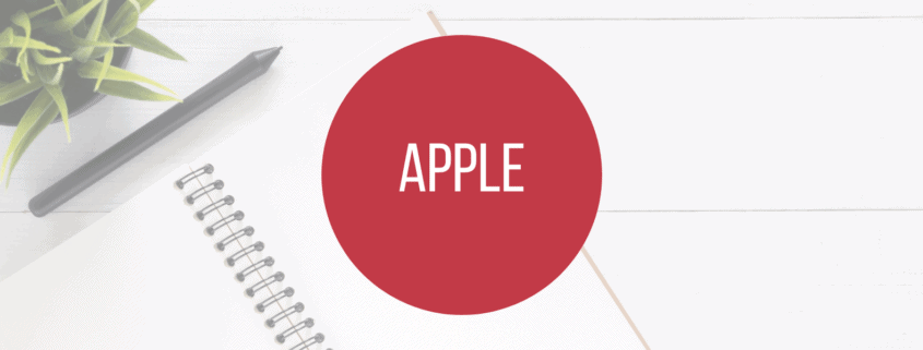 Apple - Titelbild