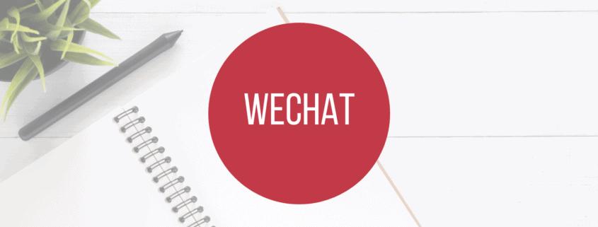 WeChat - Titelbild