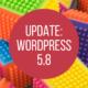WordPress 5.8 - Titelbild