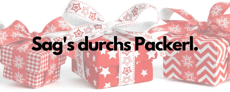 Verpackung zu Weihnachten - Titelbild